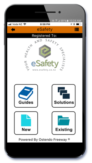 Ostendo Freeway eSafety App
